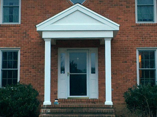 Portico gallery lkc construction corp lkc for Avvolgere l aggiunta portico